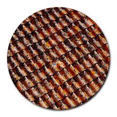 Dirty Pattern Roof Texture Round Mousepads