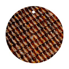 Dirty Pattern Roof Texture Ornament (round)