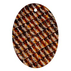 Dirty Pattern Roof Texture Ornament (oval)