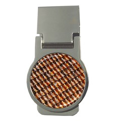 Dirty Pattern Roof Texture Money Clips (round)