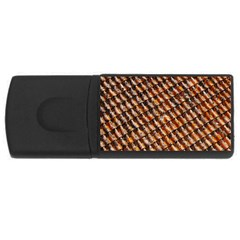 Dirty Pattern Roof Texture USB Flash Drive Rectangular (2 GB)