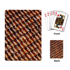 Dirty Pattern Roof Texture Playing Card