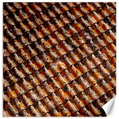 Dirty Pattern Roof Texture Canvas 16  X 16