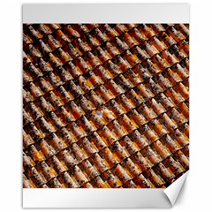 Dirty Pattern Roof Texture Canvas 16  x 20