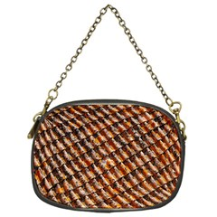 Dirty Pattern Roof Texture Chain Purses (one Side)