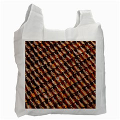 Dirty Pattern Roof Texture Recycle Bag (Two Side)