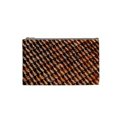 Dirty Pattern Roof Texture Cosmetic Bag (Small)