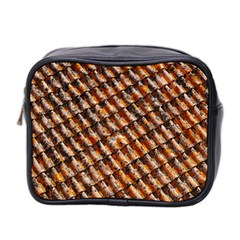 Dirty Pattern Roof Texture Mini Toiletries Bag 2 Side