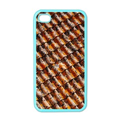 Dirty Pattern Roof Texture Apple iPhone 4 Case (Color)