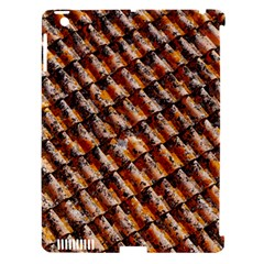 Dirty Pattern Roof Texture Apple iPad 3/4 Hardshell Case (Compatible with Smart Cover)