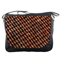 Dirty Pattern Roof Texture Messenger Bags
