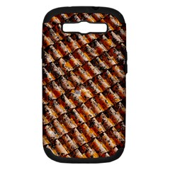 Dirty Pattern Roof Texture Samsung Galaxy S III Hardshell Case (PC+Silicone)