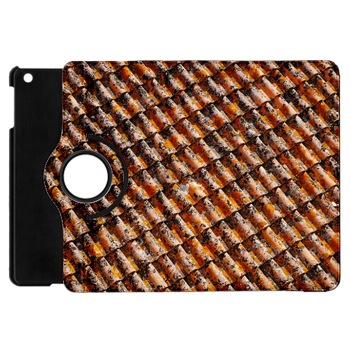 Dirty Pattern Roof Texture Apple iPad Mini Flip 360 Case