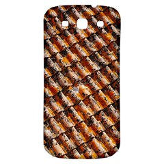 Dirty Pattern Roof Texture Samsung Galaxy S3 S III Classic Hardshell Back Case