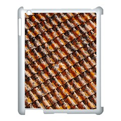 Dirty Pattern Roof Texture Apple Ipad 3/4 Case (white)