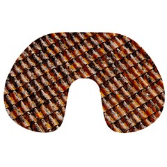 Dirty Pattern Roof Texture Travel Neck Pillows