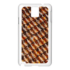 Dirty Pattern Roof Texture Samsung Galaxy Note 3 N9005 Case (White)