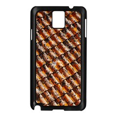 Dirty Pattern Roof Texture Samsung Galaxy Note 3 N9005 Case (Black)