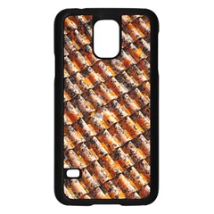 Dirty Pattern Roof Texture Samsung Galaxy S5 Case (black)