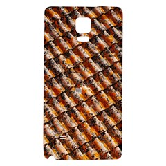 Dirty Pattern Roof Texture Galaxy Note 4 Back Case