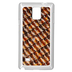 Dirty Pattern Roof Texture Samsung Galaxy Note 4 Case (white)