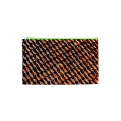 Dirty Pattern Roof Texture Cosmetic Bag (xs)