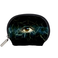 Cracked Bg w Eye Accessory Pouches (Small)