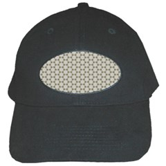 Background Website Pattern Soft Black Cap