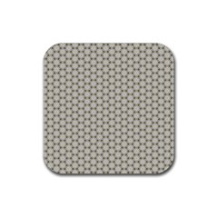 Background Website Pattern Soft Rubber Coaster (square)