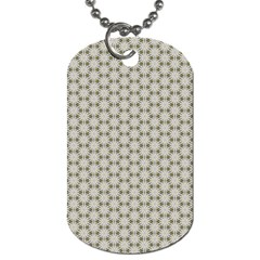 Background Website Pattern Soft Dog Tag (two Sides)