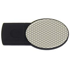 Background Website Pattern Soft USB Flash Drive Oval (1 GB)