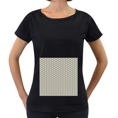 Background Website Pattern Soft Women s Loose Fit T Shirt (black)