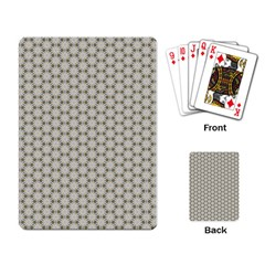 Background Website Pattern Soft Playing Card