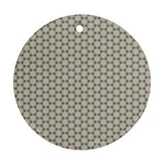 Background Website Pattern Soft Round Ornament (two Sides)
