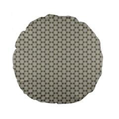 Background Website Pattern Soft Standard 15  Premium Flano Round Cushions