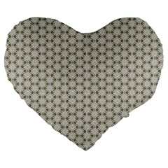 Background Website Pattern Soft Large 19  Premium Flano Heart Shape Cushions