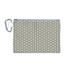 Background Website Pattern Soft Canvas Cosmetic Bag (m)