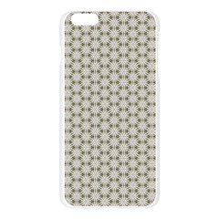 Background Website Pattern Soft Apple Seamless iPhone 6 Plus/6S Plus Case (Transparent)