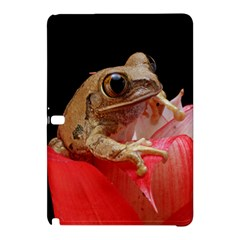Frog In Red Flower Samsung Galaxy Tab Pro 12.2 Hardshell Case