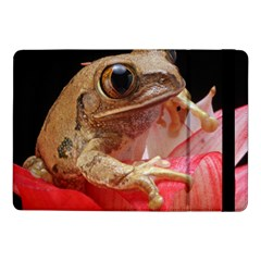 Frog In Red Flower Samsung Galaxy Tab Pro 10.1  Flip Case