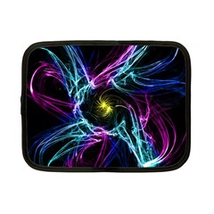 Abstract Art Color Design Lines Netbook Case (Small)