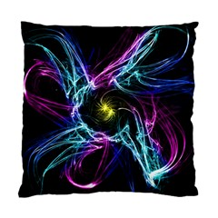 Abstract Art Color Design Lines Standard Cushion Case (one Side)