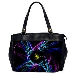 Abstract Art Color Design Lines Office Handbags