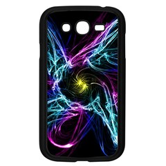 Abstract Art Color Design Lines Samsung Galaxy Grand Duos I9082 Case (black)
