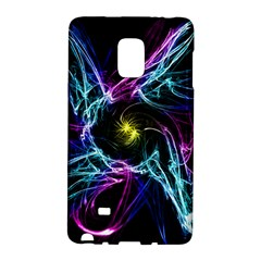 Abstract Art Color Design Lines Galaxy Note Edge