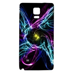 Abstract Art Color Design Lines Galaxy Note 4 Back Case