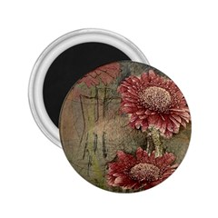 Flowers Plant Red Drawing Art 2 25  Magnets