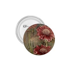 Flowers Plant Red Drawing Art 1 75  Buttons
