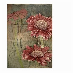 Flowers Plant Red Drawing Art Large Garden Flag (Two Sides)