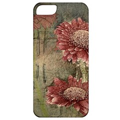 Flowers Plant Red Drawing Art Apple Iphone 5 Classic Hardshell Case